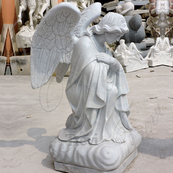life size stone angels statue online for garden